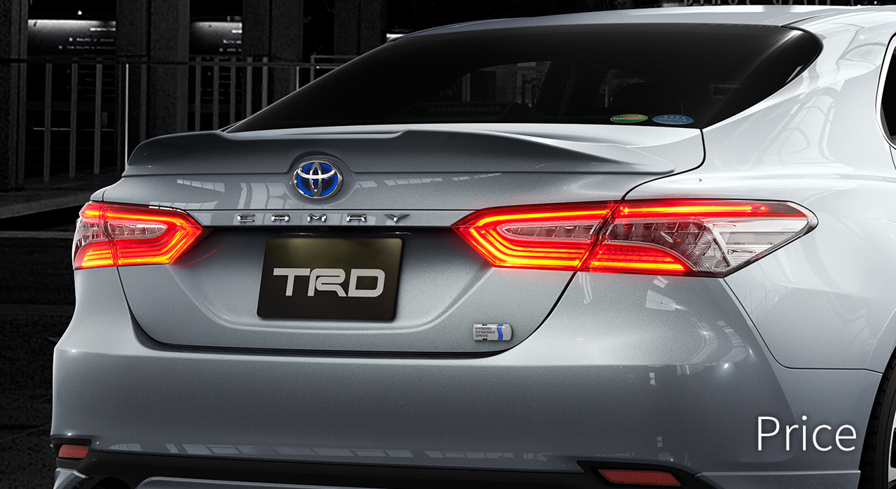 Toyota Car Price >> CAMRY | TRD