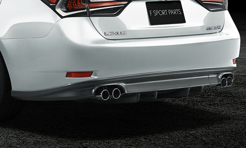 Lexus gs 350 f sport exhaust